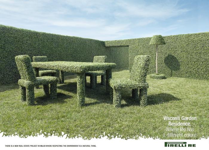 Pirelli Topiary