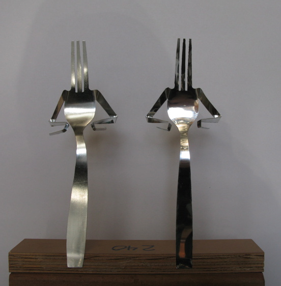 Fork with attitude